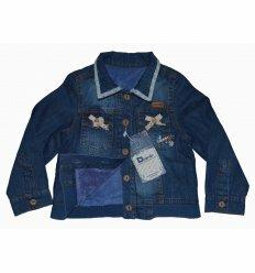 Джинсовая Куртка На Меху 3540