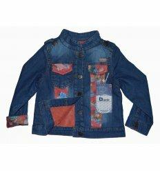 Джинсовая Куртка На Меху 3544