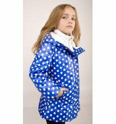 """Детская куртка """"Деми"""" синего цвета"""