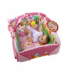 Игровой центр малыша Веселый сад розовый