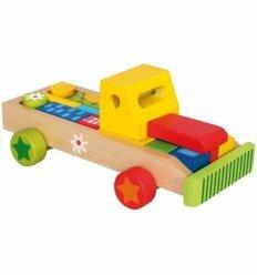 Автомобиль с кубиками