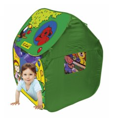 Дом-палатка с шариками
