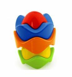 Развивающая игрушка Красочная пирамидка