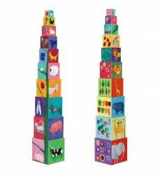 Пирамидка Забавные кубики Мои друзья