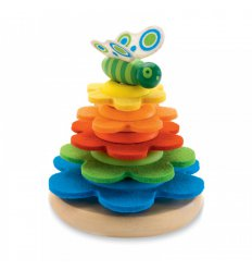Пирамидка фетровая Бабочка
