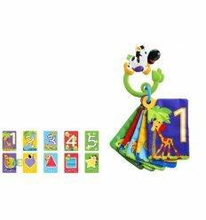 Развивающая мягкая игрушка-книжка Веселое сафари