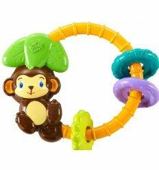 Музыкальная игрушка-погремушка Обезьянка