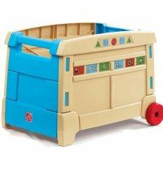 Контейнер для іграшок на колесах