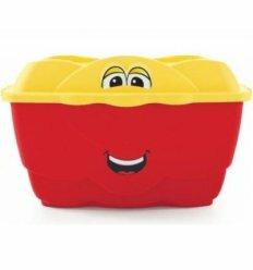 Великий веселий контейнер (червоний)