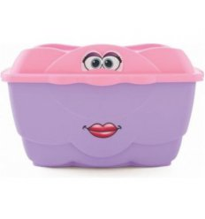 Великий веселий контейнер (рожевий)