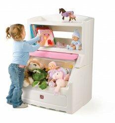 Комод для іграшок (рожевий)