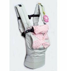 Ергономічний слінг-рюкзак Рожева фантазія