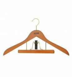 """Вішалка для одягу з прищіпкою д/брюк 250мм """"вишня"""",ТМ VILAND"""