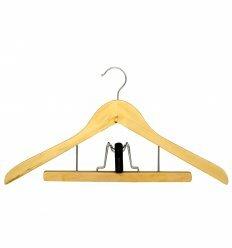 Вішалка для одягу, з прищіпкою д/брюк, ТМ МД