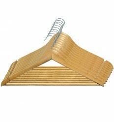 Вішалка для одягу, з нарізами, 12mm толщ. (10 шт.), ТМ МД