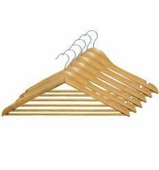 Вішалка для одягу, з нарізами, 12mm толщ. (6 шт.), ТМ МД
