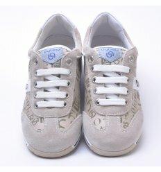 Кросівки Byblos на липучці сірого кольору