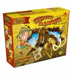 Игра-раскопки 'Секреты мамонта'. Easy Science