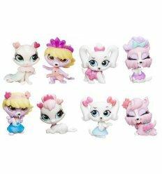Игровой набор 4 зверюшки с аксессуарами. Littlest Pet Shop