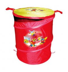 Корзина для игрушек - красная, 46х57см. DEVIK play joy