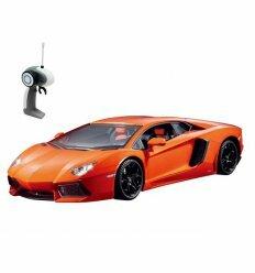 Автомобиль на радиоуправлении - LAMBORGHINI AVENTADOR LP 700-4 (оранжевый, 1:16)