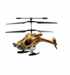 Вертолет на ИК управлении - DARK STEALTH (золотой, 22 см, 3-канальный, с гироскопом)