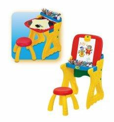 Парта со стульчиком и настольным мольбертом - Grow'n'Up.