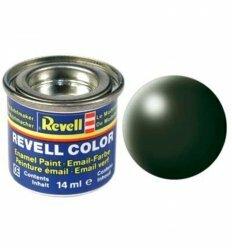 Краска № 363 темно-зеленая шелковисто-матовая dark green silk 14ml