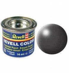 Краска № 378 темно-серая шелковисто-матовая dark grey silk 14ml