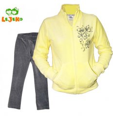 """Спортивний костюм """"Квітка"""", колір жовтий"""