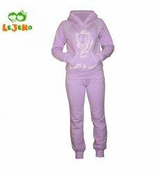 """Спортивний костюм для дівчат """"Пума"""", колір фіолетовий"""