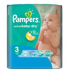 Подгузники Pampers 3 activebaby миди 4 9кг 22 шт