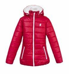 Куртка Frantolino 2202-050 с капюшоном темно-красная