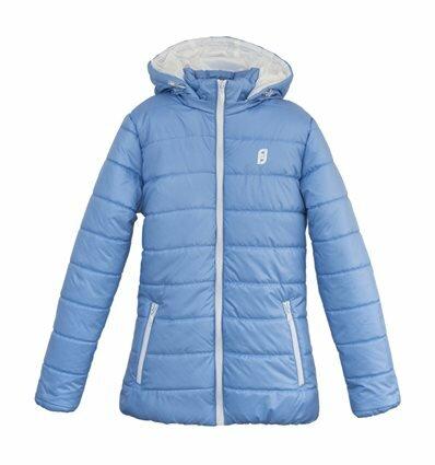 Куртка Frantolino 2202-032 с капюшоном васильковая