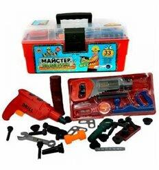 Набор инструментов 2059 в чемодане 31-16-13 см, 33 детали