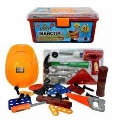 Набор инструментов 2058 в чемодане, 41 деталь