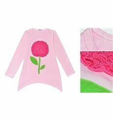 """Джемпер """"Цветочек"""" розовый"""