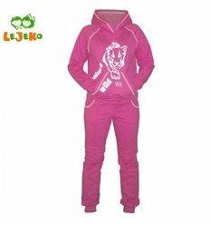 """Спортивний костюм для дівчат """"Пума"""", колір фіолетово-рожевий"""