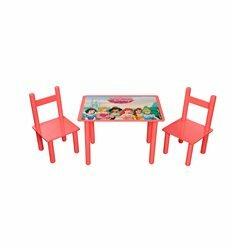 Набор стол и 2 стульчика Принцессы